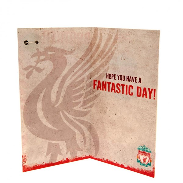 Liverpool F.C. Birthday Card Brother