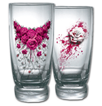 Blood Rose - Water Glasses - Set of 2