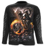 Wheels Of Fire - Longsleeve T-Shirt Black