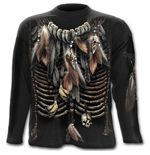 Native Spirit - Longsleeve T-Shirt Black