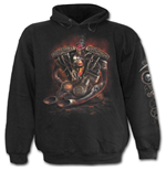 Steam Punk Rider - Hoody Black