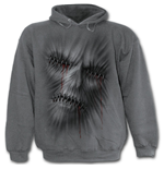 Stitched Up - Hoody Charcoal