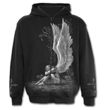 Enslaved Angel - Full Zip Hoody Black