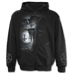Death Prayer - Full Zip Hoody Black
