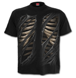 Bone Rips - T-Shirt Black
