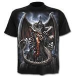 Dragon Lava - T-Shirt Black