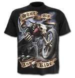 Shut Up And Ride - T-Shirt Black