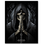 Death Prayer - Poster Flag 75x108cm