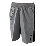 2015 Brooklyn Nets Adidas NBA Fan Shorts (Grey)