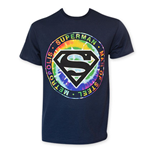 SUPERMAN Tie Dye Logo Tee Shirt