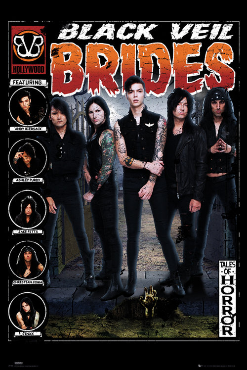 Black Veil Brides Tales of Horror Maxi Poster