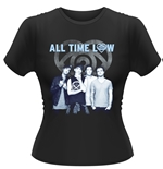 All Time Low T-shirt Colourless (BLUE)