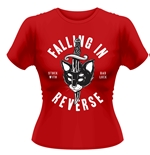 Falling In Reverse T-shirt Dagger Cat