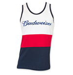 BUDWEISER Red White And Blue Tank Top