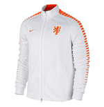 2015-2016 Holland Nike Authentic N98 Track Jacket (White)