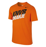 2015-2016 Holland Nike Core Type Tee (Orange)