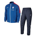 2015-2016 Holland Nike Woven Tracksuit (Blue)