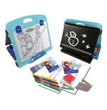 DISNEY Frozen Double Sided Art Easel with 30+ piece Accessory Set