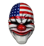 Payday 2 Vinyl Mask Dallas