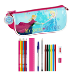 Frozen 17-Piece Pencil Case Nordic Summer 20 cm
