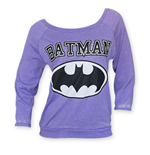 BATMAN Women's Purple Sweatshirt