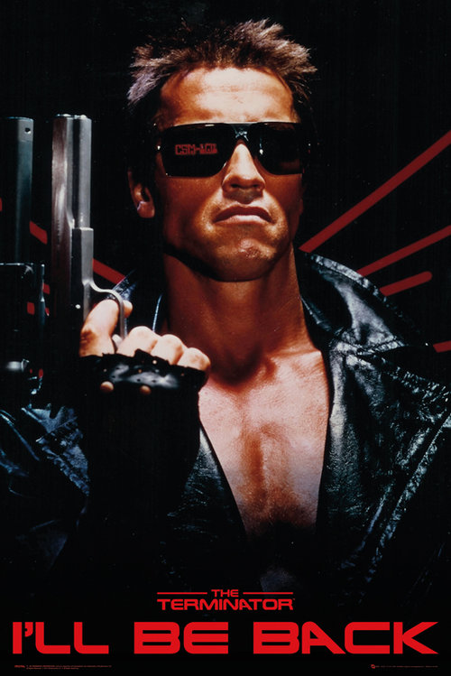 The Terminator I'll Be Back Maxi Poster
