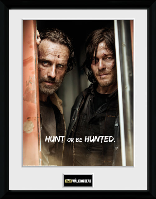 The Walking Dead Rick and Daryl Framed Collector Print