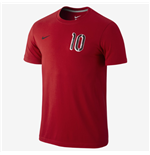 2014-15 England Nike Rooney Hero Tee (Red)