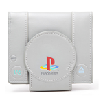 SONY PlayStation One Console Bi-Fold Wallet, Grey