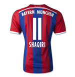 2014-15 Bayern Munich Home Shirt (Shaqiri 11)