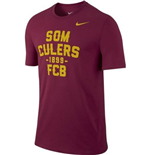 2014-2015 Barcelona Nike Core Plus T-Shirt (Red)