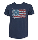 YUENGLING 185th American Flag Navy Blue T-Shirt