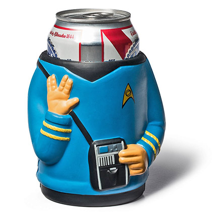 STAR TREK Spock Foam Beer Koozie