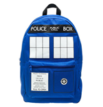 DOCTOR WHO Blue Tardis Backpack