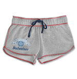 BUDWEISER Women's Gray Shorts