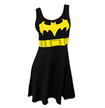 BATMAN Women's Black Bat Signal Dress