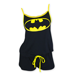 BATMAN Women's Black Romper