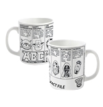 2000AD Abc Warriors Mug Fact File