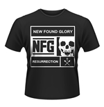 New Found Glory T-shirt Blocked