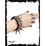 Super-Spiky Metal Bracelet
