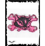 Patch: Pink Kitty & Crossbones