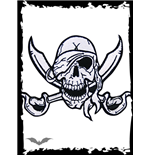 Patch: Pirate with crossed Swords