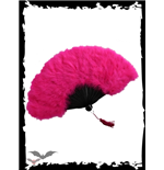 Feather Fan dark-pink