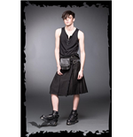 Kilt bag black - matches SK2-001/04