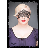 Classy lace mask with ornaments