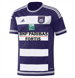 2015-2016 Anderlecht Adidas Home Football Shirt (Kids)