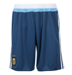 2015-2016 Argentina Away Adidas Football Shorts