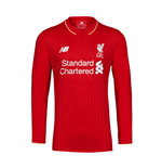 2015-2016 Liverpool Home Long Sleeve Shirt (Kids)