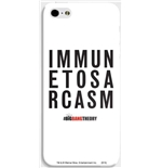 Big Bang Theory iPhone Cover -  Immune To Sarcasm