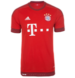 2015-2016 Bayern Munich Adidas Home Football Shirt
